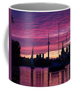 Toronto Skyline - The Boats Are Coming In Coffee Mug