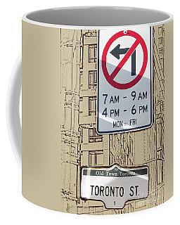 Toronto Street Sign Coffee Mug