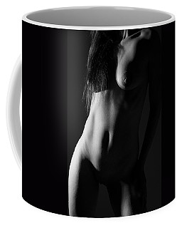 Torso In Black And White Coffee Mug