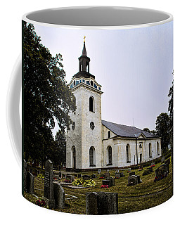 Torstuna Kyrka Church Coffee Mug by Leif Sohlman