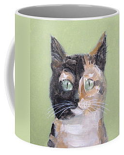 Tortie Cat Coffee Mug