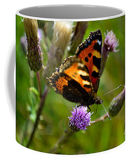 Tortoise Shell Butterfly Coffee Mug