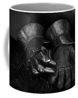 Tossing The Gauntlet Coffee Mug