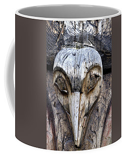 Totem Face Coffee Mug by Cathy Mahnke