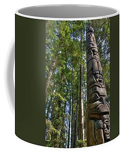 Totem Pole Coffee Mug by David Andersen