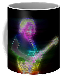 Coffee Mug featuring the digital art Touch Of Gray by Kenneth Armand Johnson