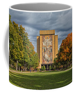 Touchdown Jesus Coffee Mug by John M Bailey