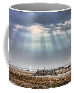 Touched By Heaven Coffee Mug by Sennie Pierson