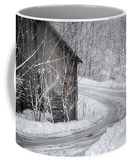 Touched By Snow Coffee Mug by Joan Carroll