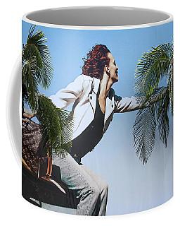 Touching The Canopy.  Coffee Mug
