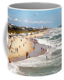 Tourist At Kure Beach Coffee Mug