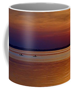 Tours End - Kayak Sunset Photo Coffee Mug
