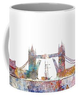 Tower Bridge Colorsplash Coffee Mug