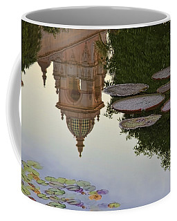 Coffee Mug featuring the photograph Tower In Lotus Position by Gary Holmes