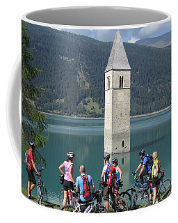 Tower In The Lake Coffee Mug