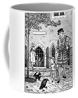 Tower Of London Ravens Coffee Mug