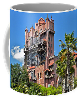 Tower Of Terror Coffee Mug by Thomas Woolworth