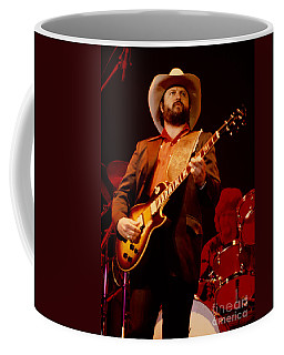 Toy Caldwell Of The Marshall Tucker Band At The Cow Palace Coffee Mug