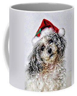 Toy Poodle- Animal- Christmas Coffee Mug