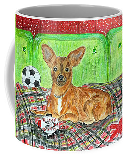 Toy Rat Terrier Coffee Mug