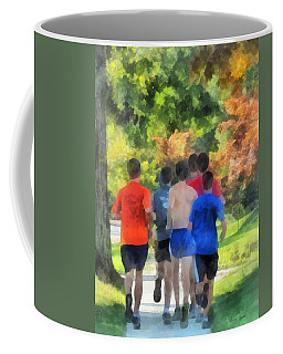 Track Practice Coffee Mug