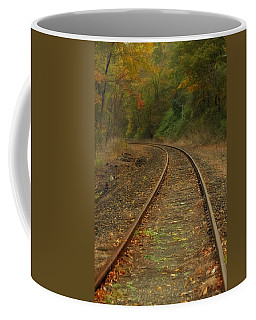 Tracking Thru The Woods Coffee Mug