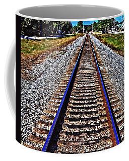 Tracks To Somewhere Coffee Mug