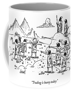 Trading Is Heavy Today Coffee Mug