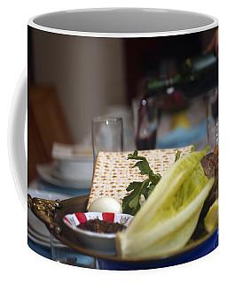 Traditional Sedder Table Coffee Mug