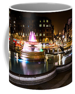 Coffee Mug featuring the photograph Trafalgar Square by Matt Malloy