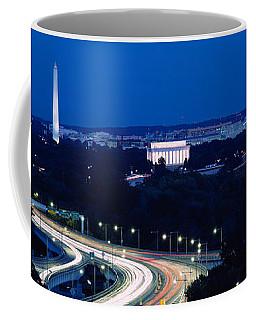 Traffic On The Road, Washington Coffee Mug