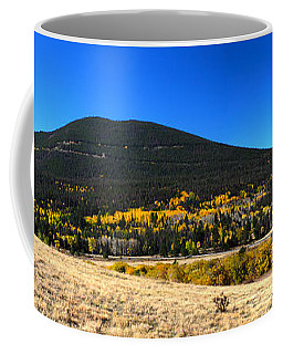 Trail Ridge Road - Panorama Coffee Mug