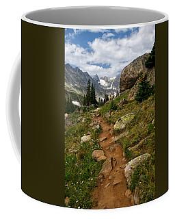 Trail To Lake Isabelle Coffee Mug