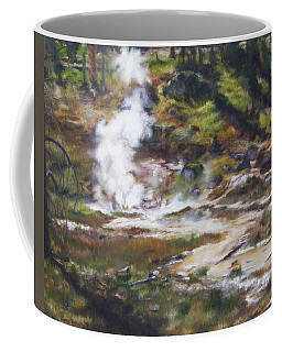 Trail To The Artists Paint Pots - Yellowstone Coffee Mug