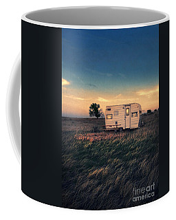 Trailer At Dusk Coffee Mug by Jill Battaglia
