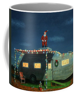 Trailer House Christmas Coffee Mug
