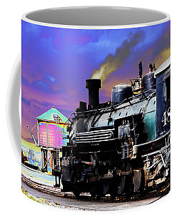Train 489 Coffee Mug by Steven Bateson