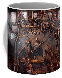 Train - Engine - Hot Under The Collar  Coffee Mug