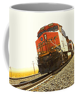 Train In The Desert Coffee Mug