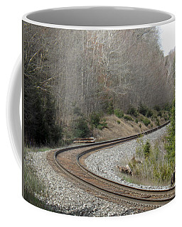 Train It Coming Around The Bend Coffee Mug