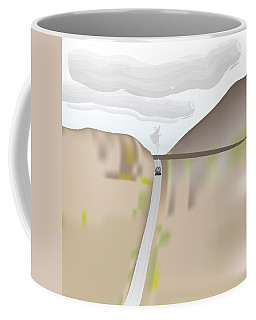 Train Landscape Coffee Mug