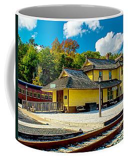 Train Station In Tuckahoe Coffee Mug