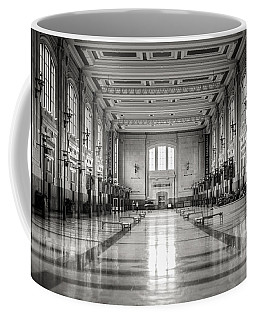 Train Station Coffee Mug by Sennie Pierson