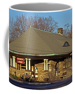 Train Stations And Libraries Coffee Mug