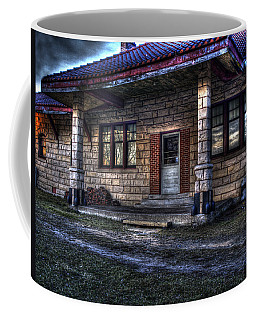 Train Stop Coffee Mug