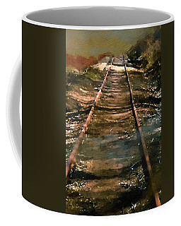 Train Track To Hell Coffee Mug