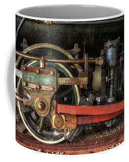 Train Wheels Coffee Mug