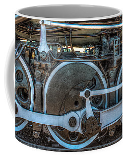 Train Wheels Coffee Mug by Paul Freidlund