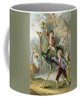 Training The Ostrich Coffee Mug