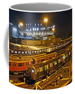 Trains Nyc Coffee Mug